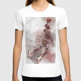 basketball player art 11 T-shirt