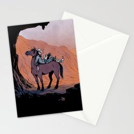 Reading Cowboy Stationery Cards