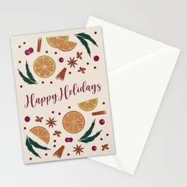 Holiday Wine Stationery Cards