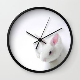 Out Of The Hat - Magic Rabbit  Wall Clock