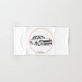 Crazy Car Art 0208 Hand & Bath Towel