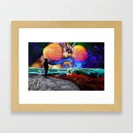 You are a Moment to Me Framed Art Print