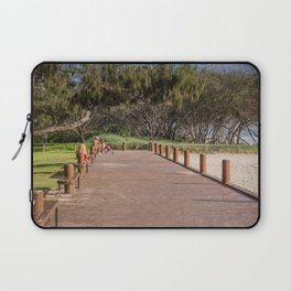 Beachside Boardwalk Laptop Sleeve