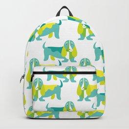 Bertie Basset pattern Backpack