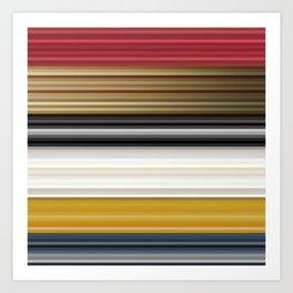 Abstract Shades Art Print