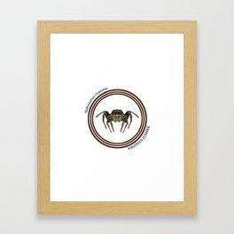 Viridipes Jumper Framed Art Print