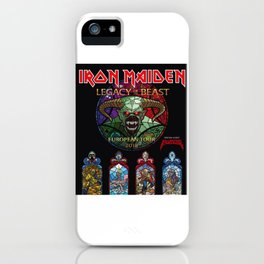 IRON MAIDEN TOUR 2018 iPhone Case