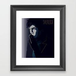 SHERLOCK Framed Art Print