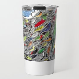 Toucans, parrots and tropical birds of Costa Rica Travel Mug
