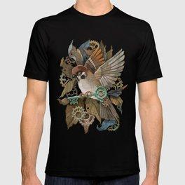 Clockwork Sparrow T-shirt