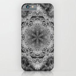 Magical black and white mandala 011 iPhone Case