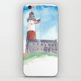 Montauk Lighthouse Long Island New York iPhone Skin
