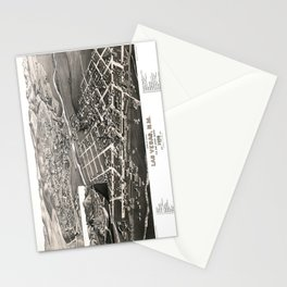 Las Vegas - New Mexico - 1882 Stationery Cards