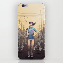 Everything I touch gets ruined iPhone Skin