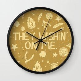 GOD'S PL\N Wall Clock
