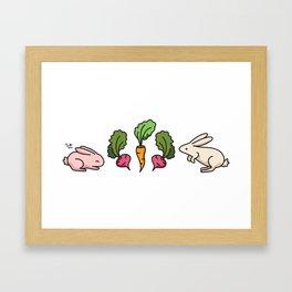 Veggie Delight Framed Art Print