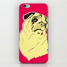 Shmoo the pug iPhone & iPod Skin