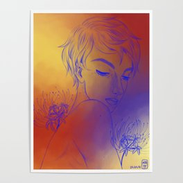 Spider Lily Boy Poster