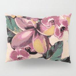 Tropical Vintage Plumerias 2 Pillow Sham