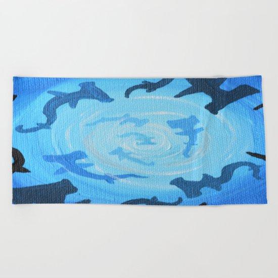 Shark Tank Beach Towel