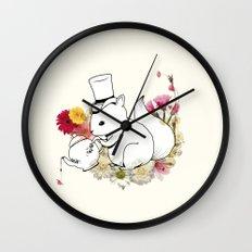 Hibisquiño Wall Clock