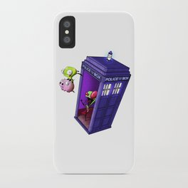 Zim Has the Blue Box iPhone Case