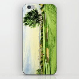 Carnoustie Golf Course Scotland 13th Green iPhone Skin