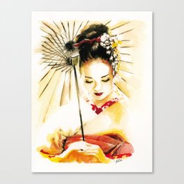 Memoirs of a Geisha Canvas Print