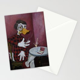 The Journalist / Sylvia vonQuack Stationery Cards
