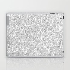 1000 imaginary friends and one bear Laptop & iPad Skin