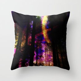 close your eyes and dream with me Throw Pillow