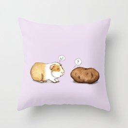 How Do You Do? Throw Pillow