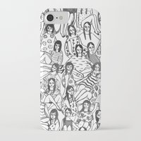 golden girls iPhone & iPod Cases featuring Girls by leah reena goren