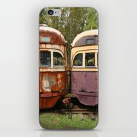bender iPhone & iPod Skins featuring Fender Bender by Michael G. Mitchener