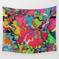 cupcake Wall Tapestries featuring Cupcake Crush by Glanoramay