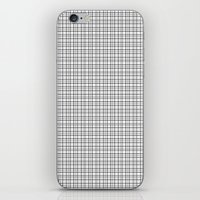 grid iPhone & iPod Skins featuring Grid by Georgiana Paraschiv