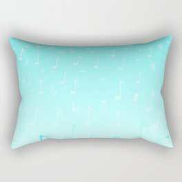Snowing Music Rectangular Pillow