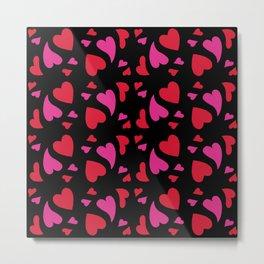 Merzy's Hearts Metal Print