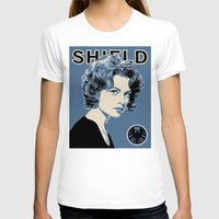 agent carter T-shirts featuring Director Carter by Arne AKA Ratscape
