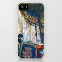 Mrs. Hessel At Her Window - Digital Remastered Edition iPhone Case