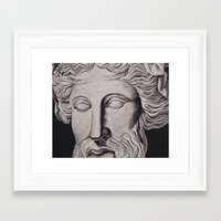 philosophy Framed Art Prints featuring Philosophy by Claire Holmgreen
