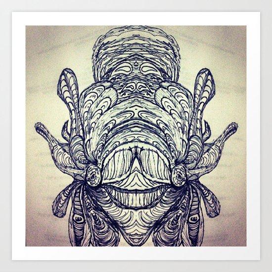EYE (see) YOU Art Print