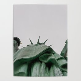A Lady in green - NYC Poster