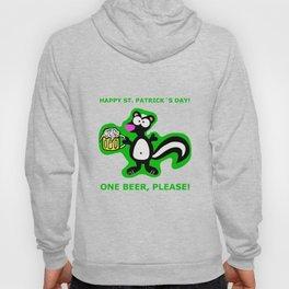 St. Patrick´s Day Skunk Love T-Shirt Irish Beer Hoody