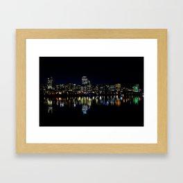 Wellington City Scape Framed Art Print