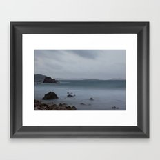 John's Folly on a Foggy Morning Framed Art Print