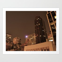 View From My Room Art Print