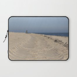 Traces in the sand Laptop Sleeve