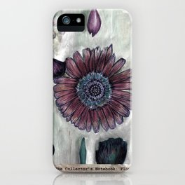 The Collector's Notebook: Flower iPhone Case