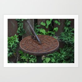 Sun Dial (color) Art Print